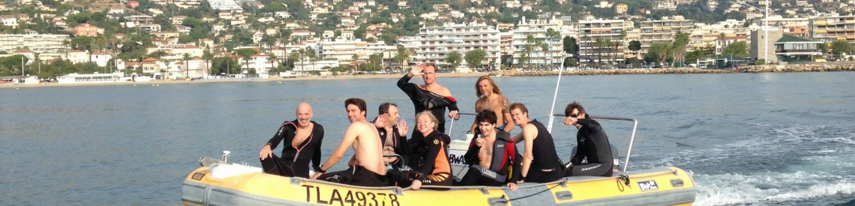 Padi 5* dive centre award winning golfe juan cannes antibes south france