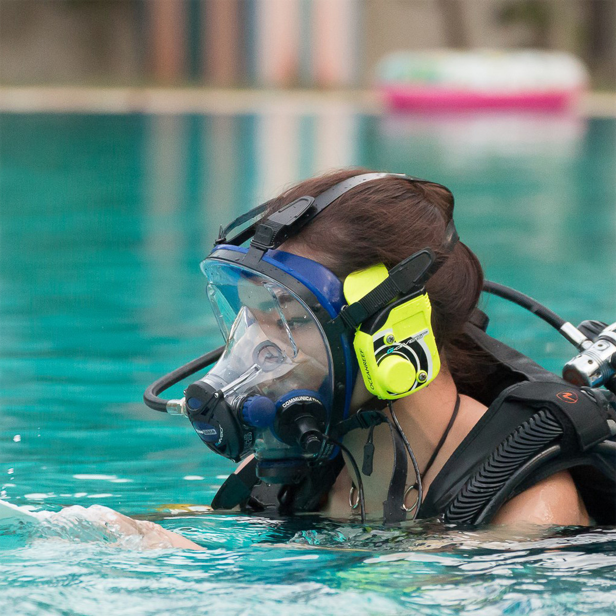WHY DIVE A FULL FACE MASK?