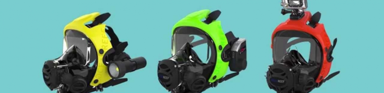 Ocean Reef Space Extender 100 series quality scuba diving equipment